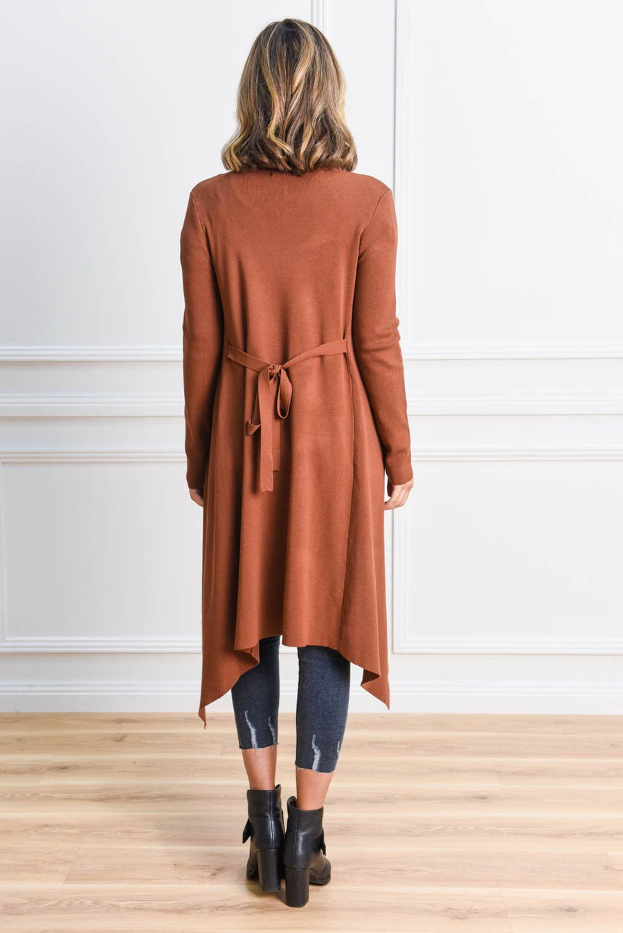 Tash Trench Coatigan - Deep Tan Coat Gray Label