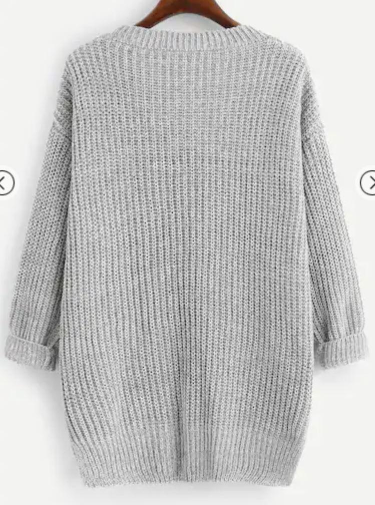 Wynter Knit | Grey Jumper Gray Label