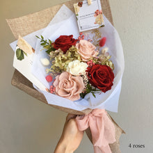 Petite Twin Bouquet (Select # of roses)