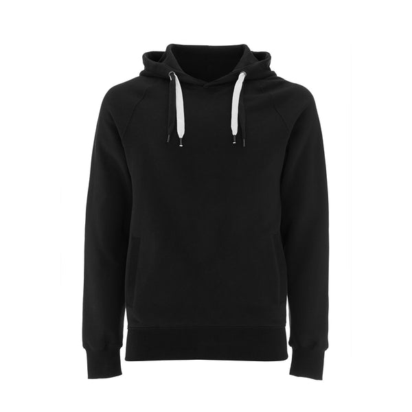 "Organic Cotton Hoodie ""Harry Otter"" Black/Silver"