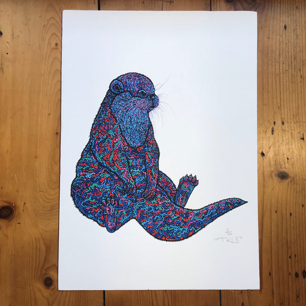 """Harry Otter-Know-Better"" Art Print"