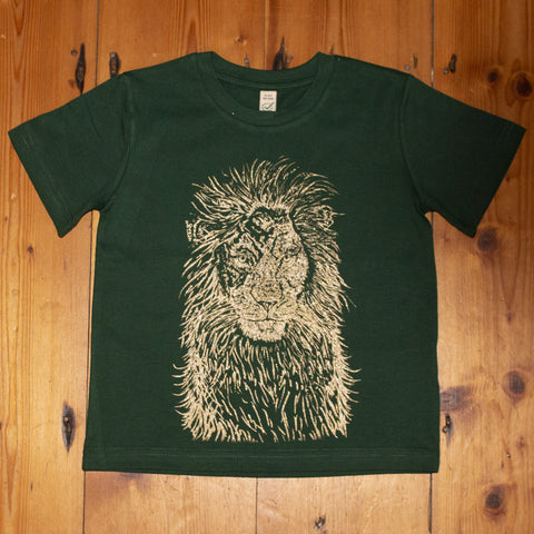 """Out the Shadows #1"" : ""Lion"" Children's unisex t-shirt"