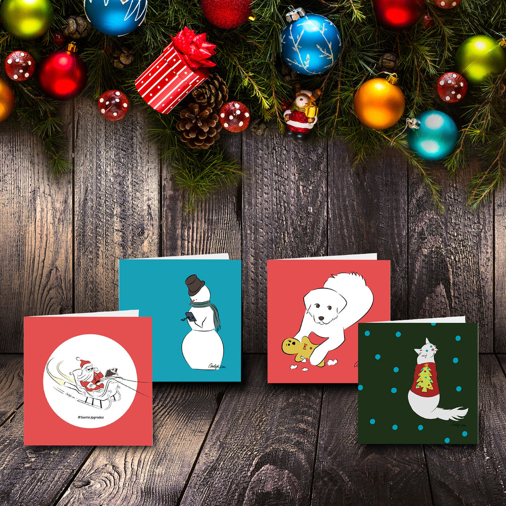 Blank Christmas Card Collection - Multiple Designs