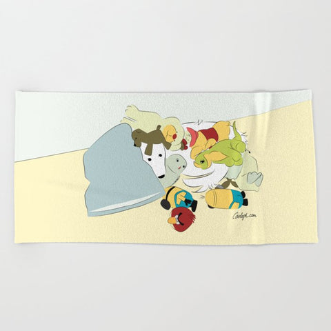 Great Pyrenees Luxury Beach Towel | Multiple Designs
