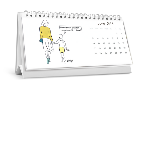 2018 Value Desk Calendar