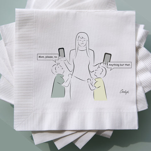 Conversation Starter Cocktail Napkins Variety Pack