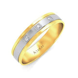 Signia 9kt gold wedding band - Azarai