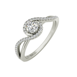Ivy sterling silver engagement ring - Azarai - 1