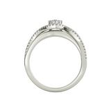 Ivy sterling silver engagement ring - Azarai - 3