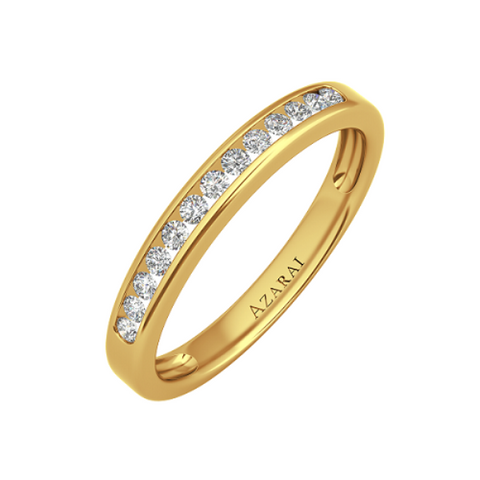 Addison 9kt gold wedding band