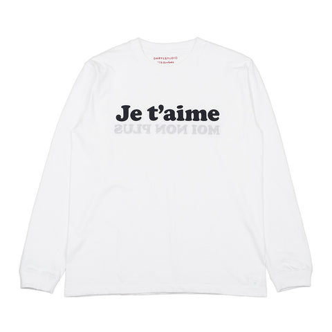 Long Sleeve 'Je t'aime' t-shirt