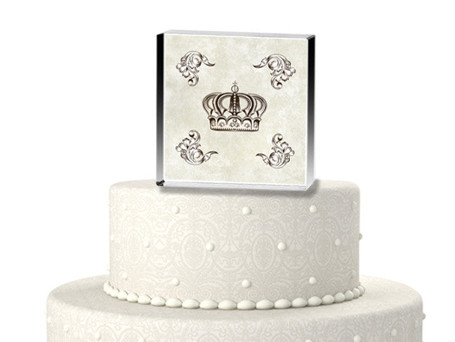 Royalty for the Day Wedding Cake Topper