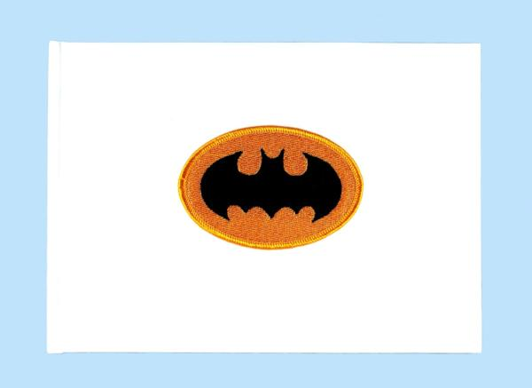 """Bat"" Superhero Theme Wedding Guest Book"