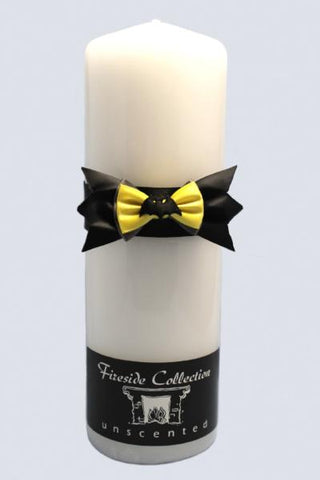"""Bat"" Superhero Theme Wedding Unity Candle"