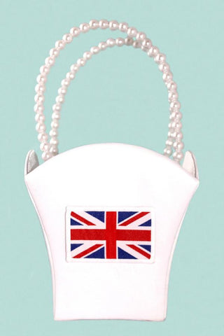 Great Britain Wedding Satin Flower Basket
