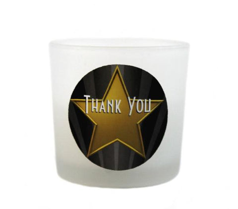 """Hollywood"" Wedding Candle Favours"