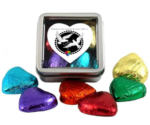 """Doves of Love"" LGBT+ Sweet Favour Tins"