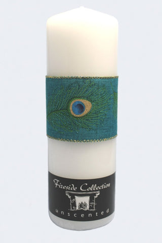 Peacock Wedding Unity Candle