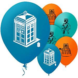 Doctor Who Balloons - pack of 10
