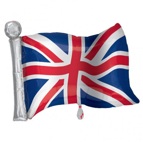 Great Britain Union Jack Supershape Flag Balloon