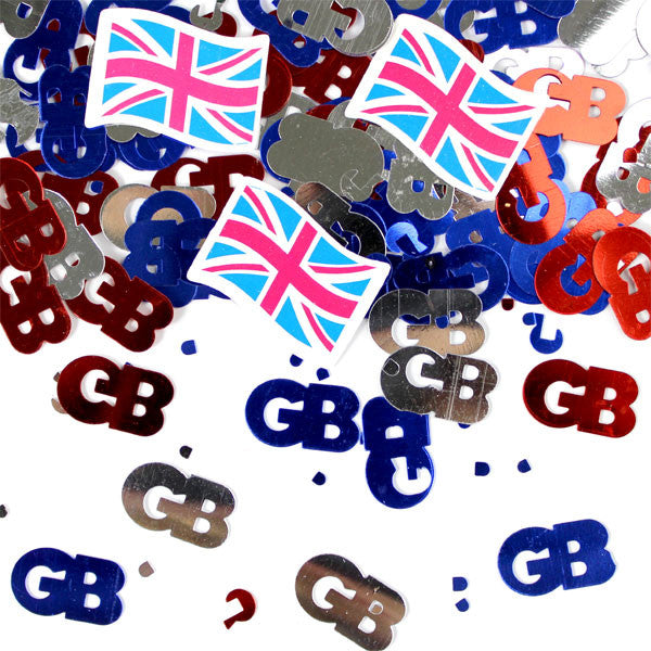 Union Jack Table Confetti