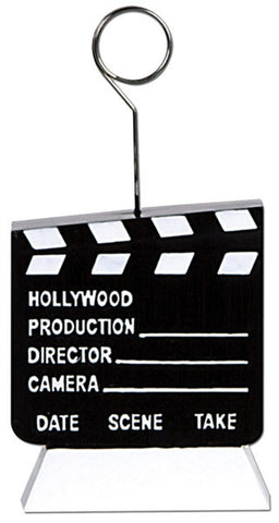 Hollywood Wedding Clapperboard Balloon Weight