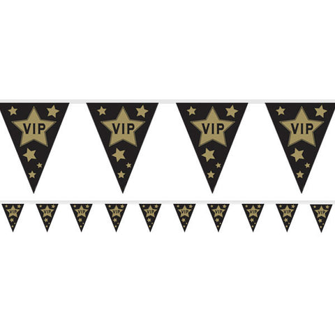 Hollywood VIP Flag Plastic Bunting