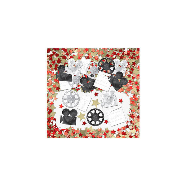 Hollywood Movie Table Confetti