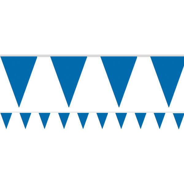 Royal Blue Paper Bunting