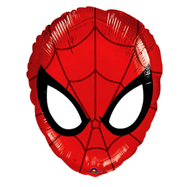 "Spiderman Head Balloon - 18"" Foil"