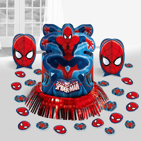 Spiderman Table Centrepiece Decorating Kit
