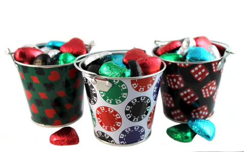 Casino Wedding Favour Tins