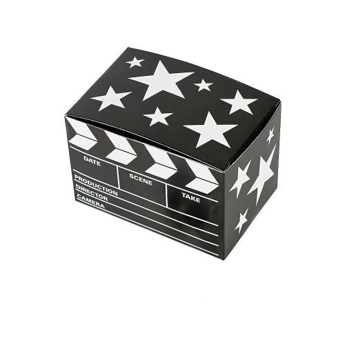 Hollywood Wedding Clapperboard Favour Boxes - pack of 12