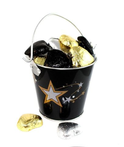 Gold Star Hollywood Wedding Favour Tins