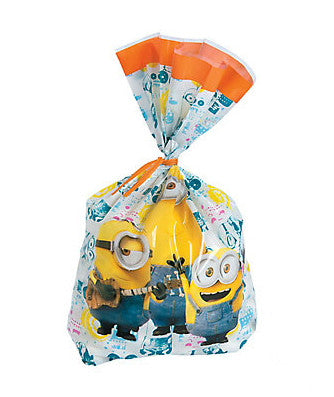 Minions™ Cellophane Favour Bags - pack of 16
