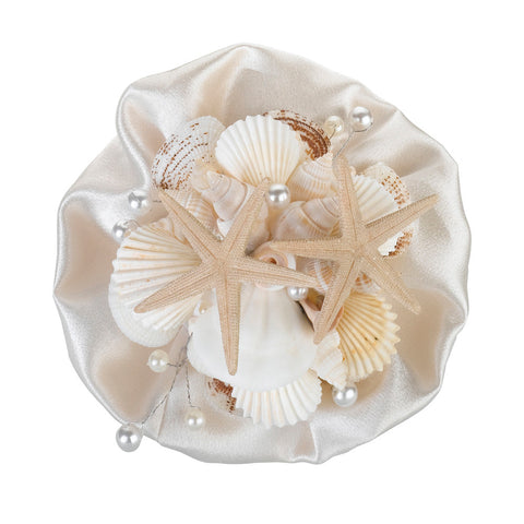 Beach Wedding Coastal Sea Shell Bouquet