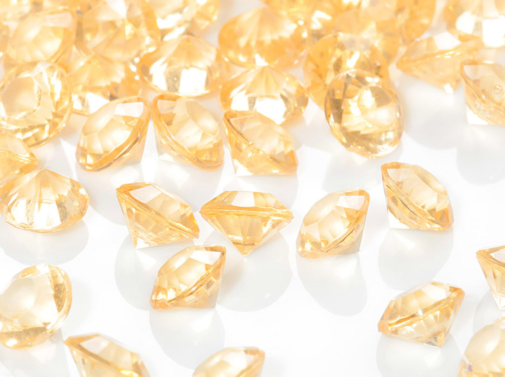 Table Gems / Crystals (6mm) - Gold