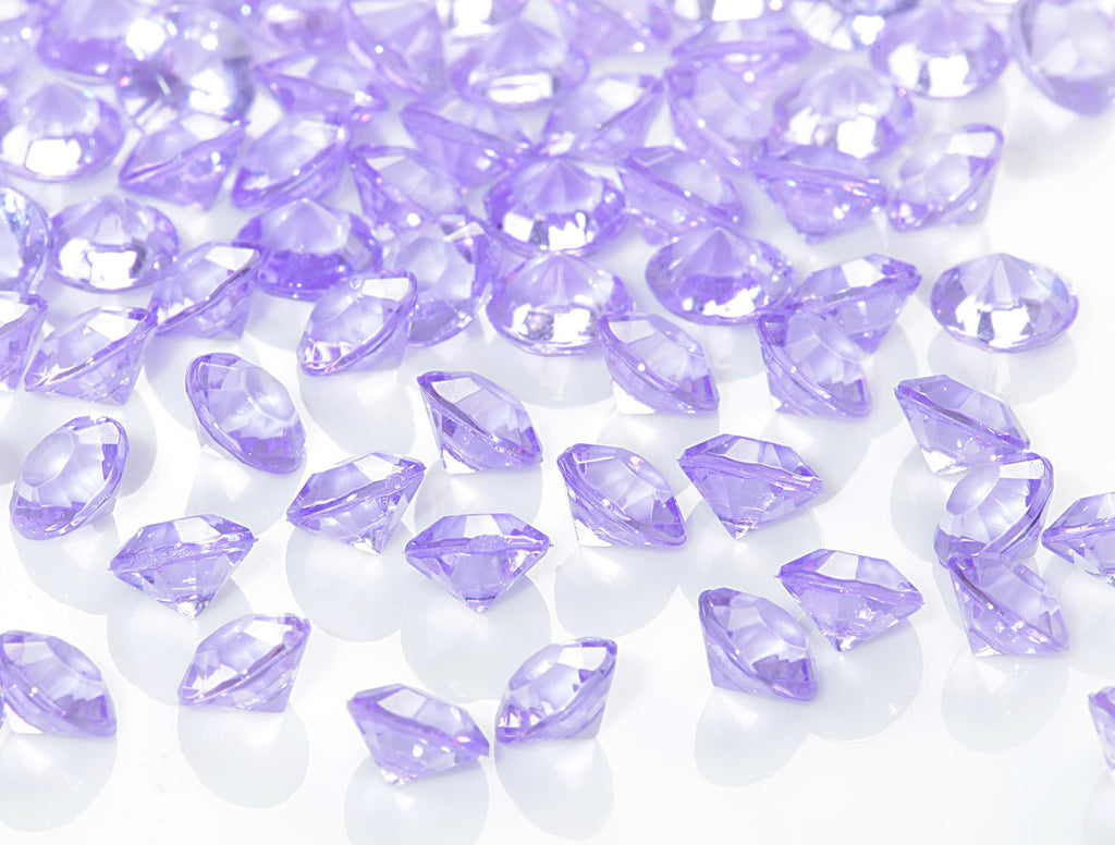 Table Gems / Crystals (6mm) - Lilac