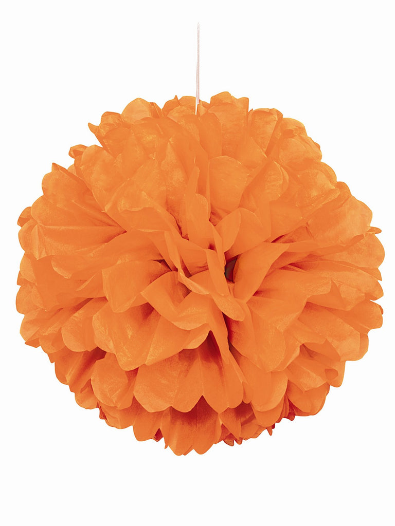 Orange Pom-Pom Hanging Decoration