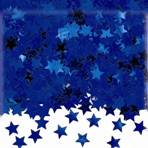 Blue Star Metallic Table Confetti 14g