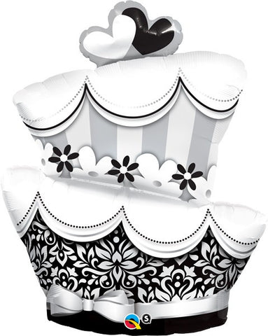 "42"" Fun & Fabulous Wedding Cake Balloon"