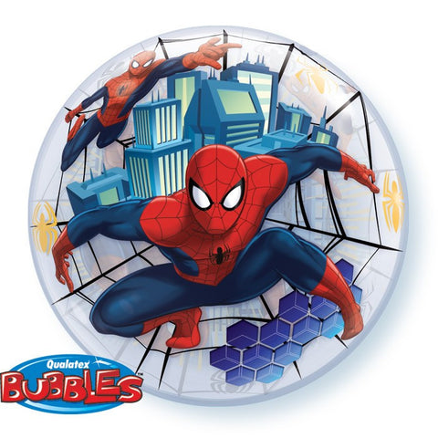 "22"" Spiderman Bubble Balloon"