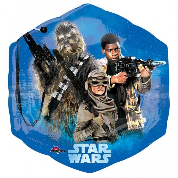 "Star Wars The Force Awakens SuperShape 23"" Foil Balloon"