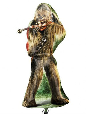"Star Wars Chewbacca 38"" SuperShape Foil Balloon"
