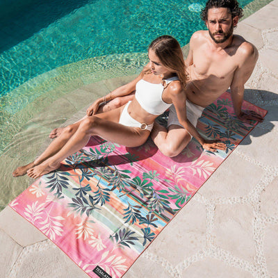 Tesalate - Cali Sunset Beach Towel
