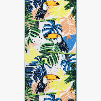 Tesalate - Under The Canopy Beach Towel