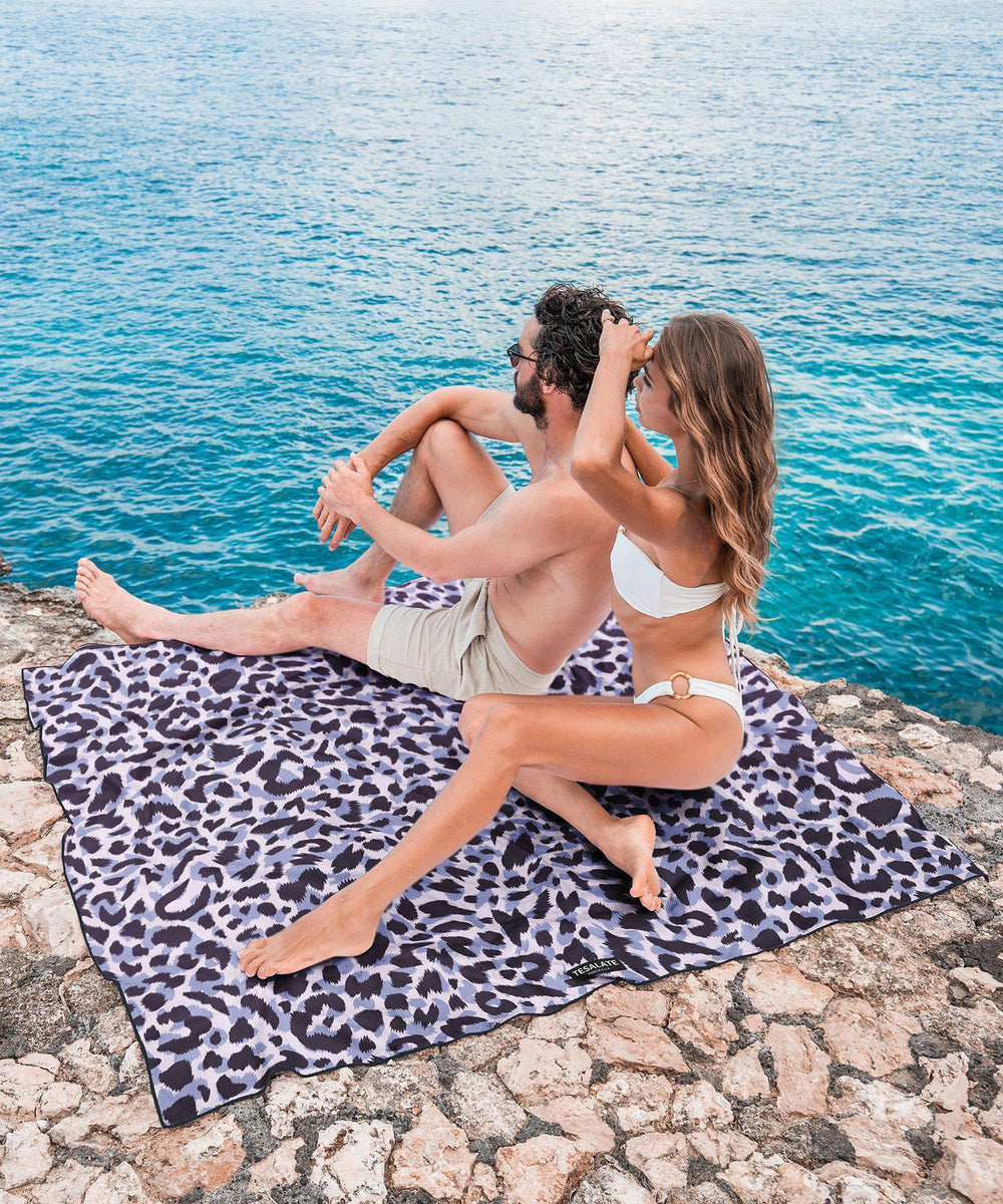 Wild Ones - Pink/Violet - Towel for Two-Beach-Towel