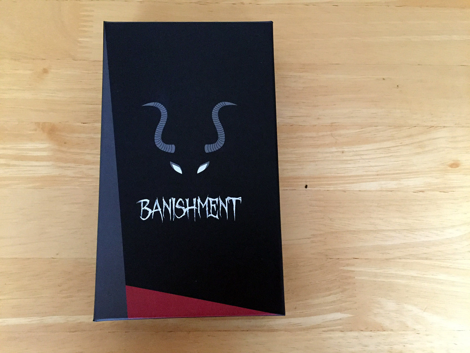 Banishment Card Game - Box Cover