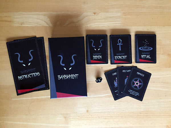 Banishment Card Game - Contents