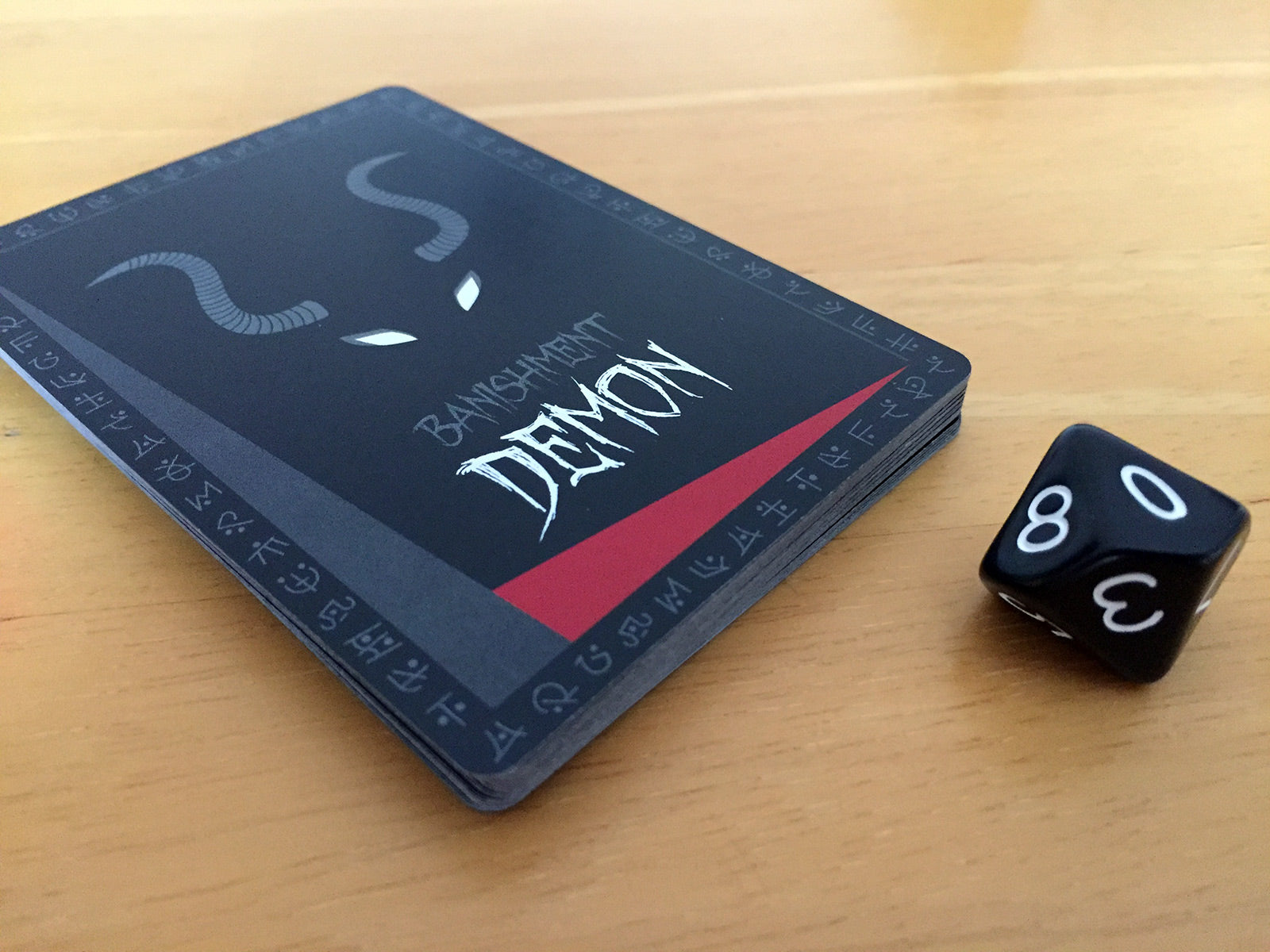Banishment Card Game - Demon Deck